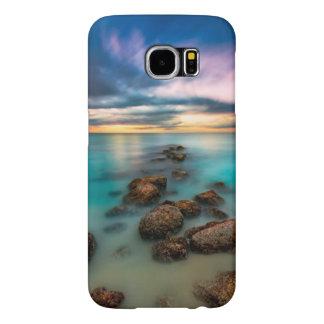 Een mooie Zonsondergang over Baai | van de Gunst Samsung Galaxy S6 Hoesje