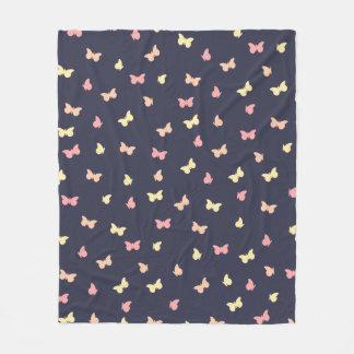 Een opwinding van vlinders fleece deken