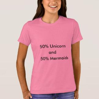 Eenhoorn en mermaids. t shirt