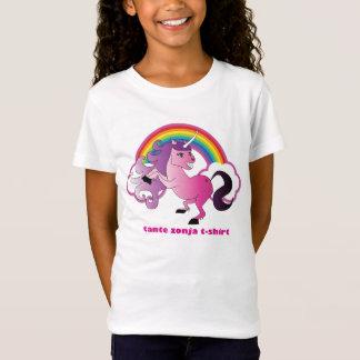 Eenhoorn en regenboog t-shirt