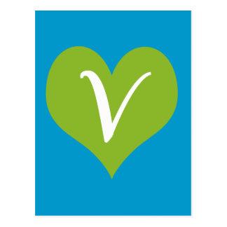 Eenvoudige Grafische Veganist Wenskaarten
