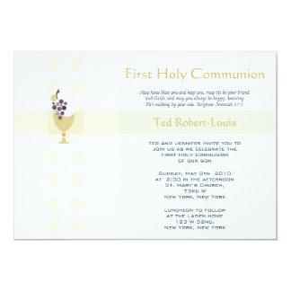 Eerste Heilige Communie - Jongen Kaart