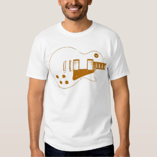 Effet de papier à lettres de Guitare-T T Shirts