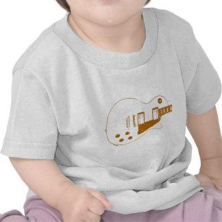 Effet de papier à lettres de Guitare-T T-shirt