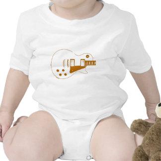 Effet de papier à lettres de Guitare-T Body Pour Bébé