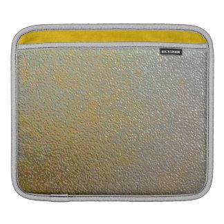Effet de texture embouti par argent élégant en mét poche iPad