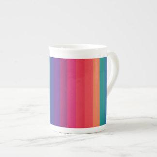 Effiloche Bone chinoise Personnalisée Rainbow Mug