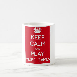 Effiloche Gamer - Conception Keep Calm Mug Blanc