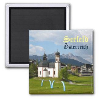 Église dans Seefeld, aimant des textes de