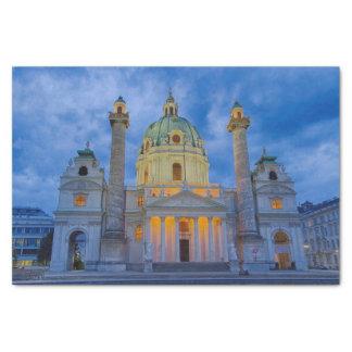 Église de saint Charles, Vienne Papier Mousseline
