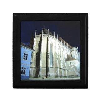 Église noire en Brasov, Roumanie Boîte À Souvenirs