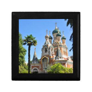 Église orthodoxe en France agréable Boîte À Souvenirs