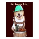Ein Deutscher Hund Carte Postale