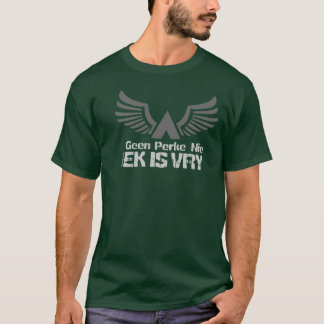 Ek est afrikaans de Vry (je suis libre) T-shirt