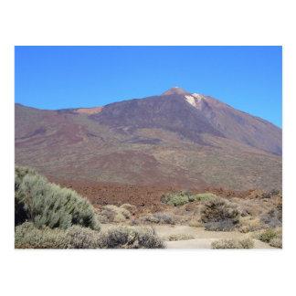 EL Teide, carte postale de coutume de Ténérife