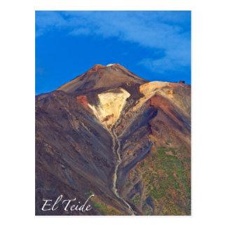 EL Teide, Ténérife, carte postale