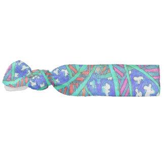 Élastique à cheveux de Batik-Style