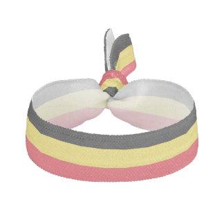 Élastique à cheveux de drapeau de la Belgique