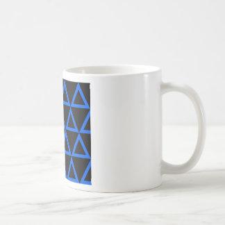 Electric Triangle Blue Mug