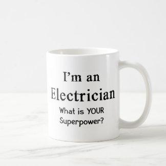 Électricien Mug