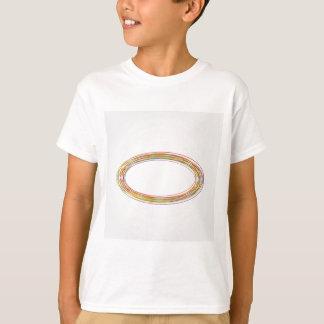 Élément de conception avec des anneaux t-shirt