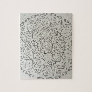 éléments de mandala puzzle