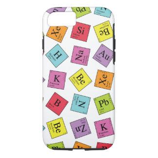 Éléments périodiques coque iPhone 7