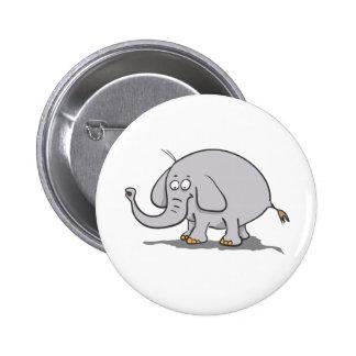 Éléphant Badges Avec Agrafe