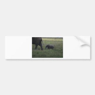 Éléphant de bébé autocollant de voiture