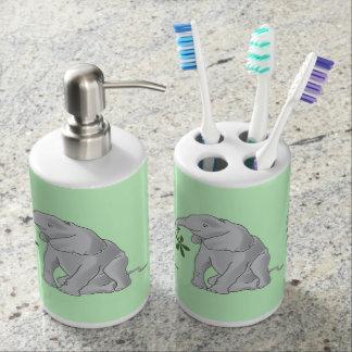 Éléphant de bébé set de salle de bain