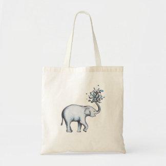 Éléphant de bébé tote bag