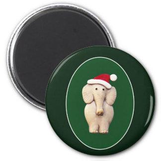Éléphant de Noël Aimants Pour Réfrigérateur