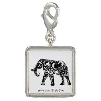 Éléphant de paix breloques