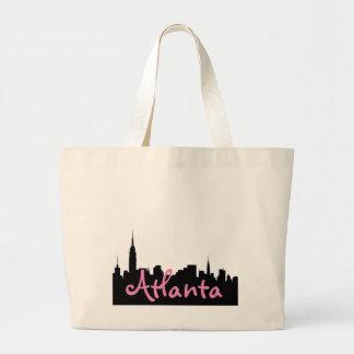 Éléphant Fourre-tout de paysage urbain d'Atlanta Grand Sac