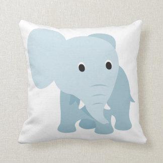 Éléphant mignon de bébé oreillers