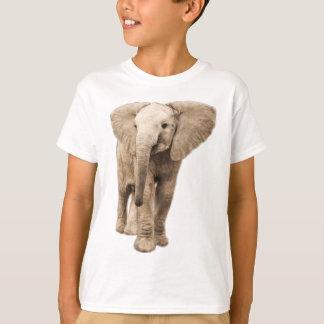 Éléphant mignon de bébé t-shirt
