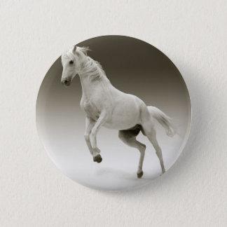 élevage du cheval badge rond 5 cm