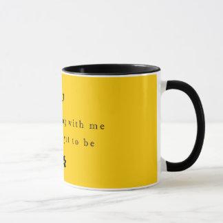 Élevez vieux avec moi la tasse de cadeau