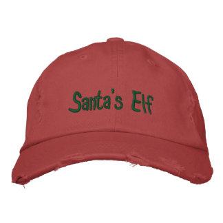 Elf de Père Noël Casquette Brodée