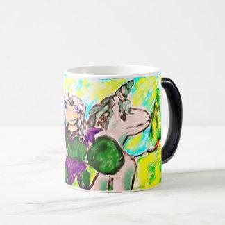 Elf et licorne mug magique