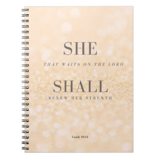 ELLE 40:31 d'Isaïe de carnet