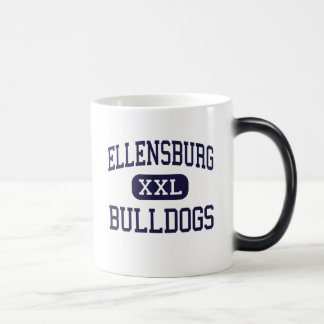 Ellensburg - bouledogues - haut - Ellensburg Mug Magique