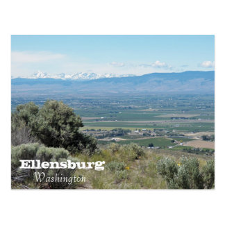 Ellensburg, photo de voyage de Washington Carte Postale