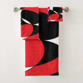 Ellipticals noir, blanc et rouge