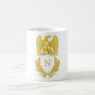 Emblème de Napoleon Bonaparte Mug Blanc