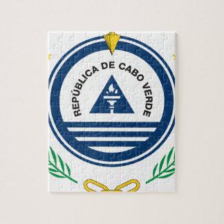 Emblème du Cap Vert Brasão de armas de Cabo Verde Puzzles