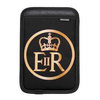 Emblème du règne d'Elizabeth Housses iPad Mini