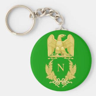 Emblème impérial de porte - clé du napoléon I Porte-clé Rond