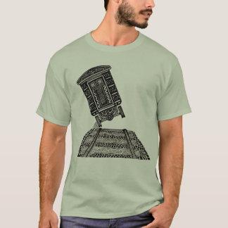 Emboutage du T-shirt de train