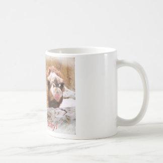 Embrassez-moi chameau mug